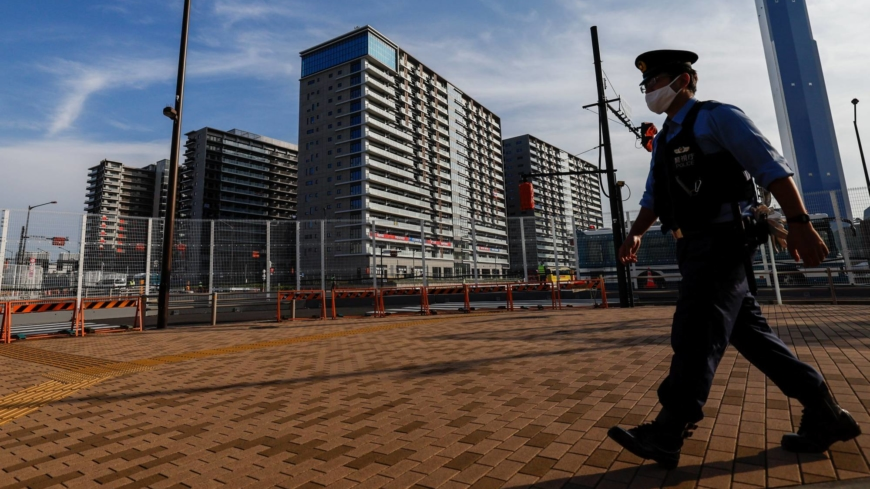 Japanese Paralympic judoka with visual impairment hit by autonomous bus in athletes village