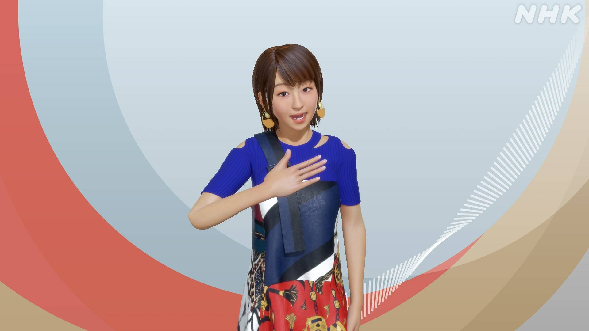 Reporter Yuki Goto was used as a model for NHK's sign-language sports commentator for the Tokyo Games.   NHK