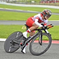 Keiko Sugiura becomes Japan's oldest gold medalist after winning women's cycling road time trial
