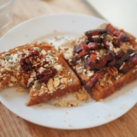 Top with the seeds (and bacon or a fried egg, if desired) and enjoy. | SIMON DALY