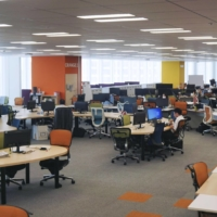 The Digital Agency office in Tokyo on Tuesday   KYODO