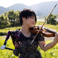 Japan's Paralympian, nurse and violinist Manami Ito steals the show