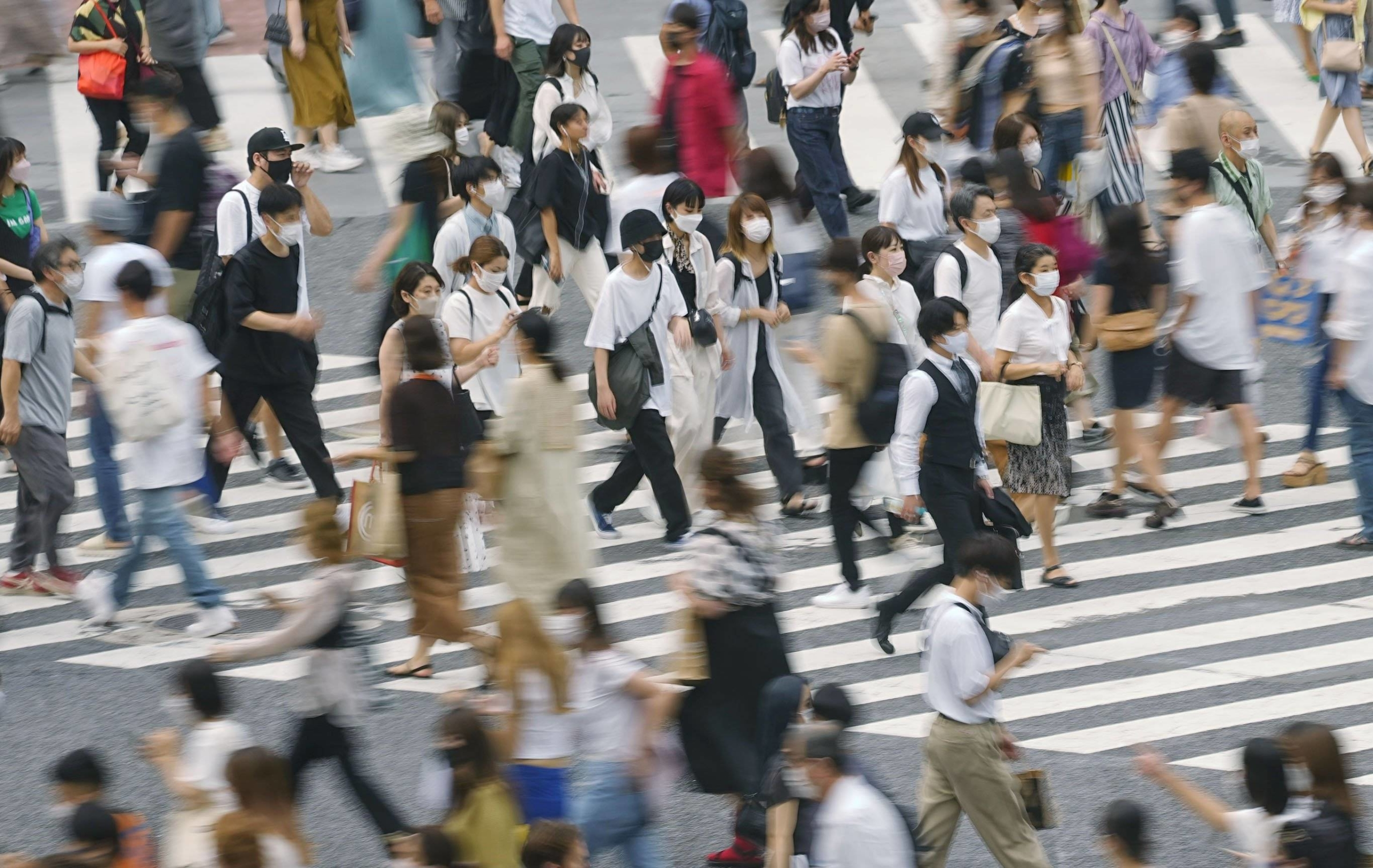 Tokyo confirmed 3,099 new cases of COVID-19 on Thursday.   KYODO
