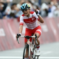 Keiko Sugiura wins C1-3 cycling road race for second Tokyo gold