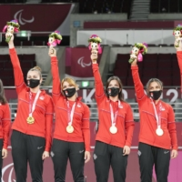 Turkey routs U.S. to take gold in goalball