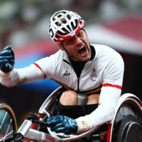 Belgian wheelchair sprinter says he overcame sabotage to win gold medal