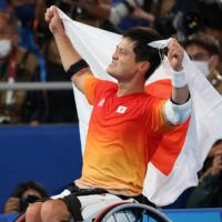 After nine-year wait, Shingo Kunieda is king of Paralympic court again
