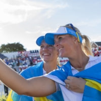 Europe defeats U.S. for second straight Solheim Cup