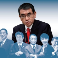 The LDP's outspoken 'maverick' steps up to fight for the party's top spot