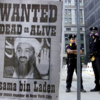 Osama bin Laden's al-Qaida terrorist organization was blamed for the Sept. 11 attacks on the United States in 2001. The Saudi-born militant remained at large until May 2011, when he was finally tracked down and killed by U.S. forces at a hideout in Pakistan. | RUSSELL BOYCE / REUTERS