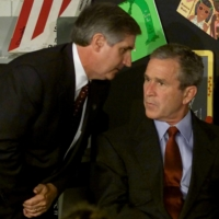 The terrorist attacks went on to define the presidency of George W. Bush, who learned of the hijacked aircraft hitting the World Trade Center on the day of the attack while conducting a reading seminar at an elementary school in Florida. | WIN MCNAMEE / REUTERS