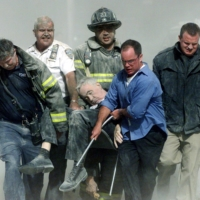 Nearly 3,000 people were killed in coordinated attacks on the World Trade Center in New York and the Pentagon, with a fourth plane crashing in Pennsylvania after passengers and crew are believed to have attempted to retake control of the aircraft. | SHANNON STAPLETON / REUTERS