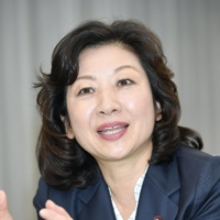 Seiko Noda, a former interior affairs minister, has long aspired to become Japan's first female prime minister.   KYODO