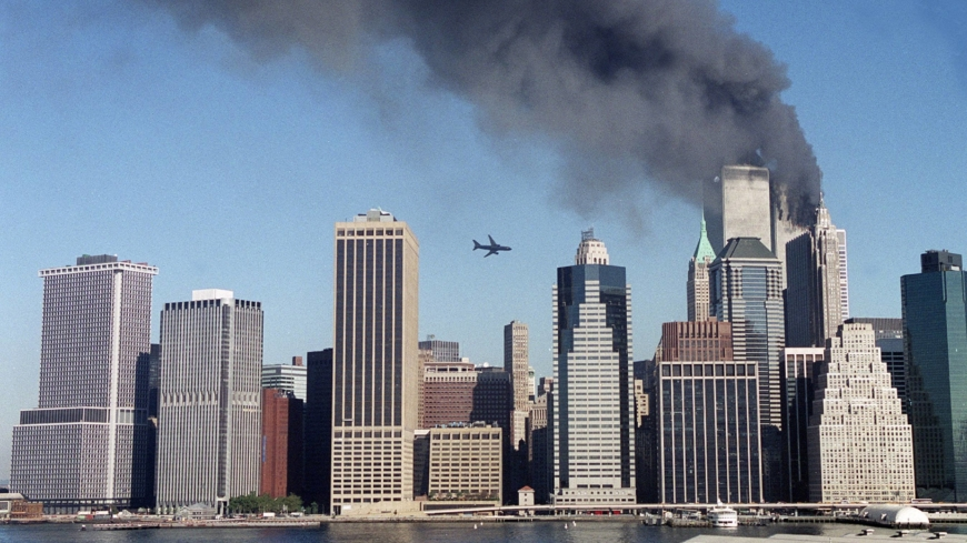 20 years after the fall of the twin towers, the U.S. comes full circle