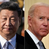 Chinese President Xi Jinping had a 'candid, in-depth' discussion with U.S. counterpart Joe Biden during their first call in seven months, Chinese state media reported Friday. | AFP-JIJI