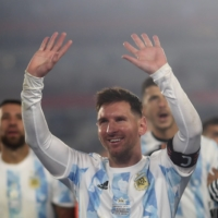 Lionel Messi passes Pele for South American record with hat trick
