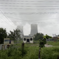 A view of the coal-powered Chandrapur Thermal Power Station in Chandrapur | THOMSON REUTERS FOUNDATION