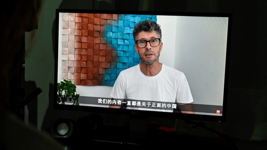 The foreign legion of YouTubers defending China