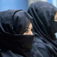 Women's rights in Afghanistan were sharply curtailed under the Taliban's 1996-2001 rule, but since returning to power the group claims they will be less extreme. | AFP-JIJI