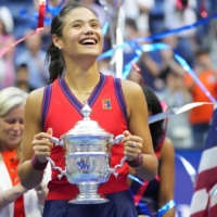 Emma Raducanu became the first qualifier to win a Grand Slam title with her victory in the U.S. Open in New York on Saturday. | USA TODAY / VIA REUTERS