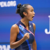 Leylah Fernandez was ranked No. 73 at the start of the U.S. Open. | USA TODAY / VIA REUTERS