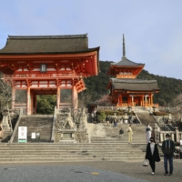 Few tourists have visited iconic World Heritage sites such as the Kiyomizu temple in Kyoto over the past 18 months due to the ongoing global pandemic.  | KYODO