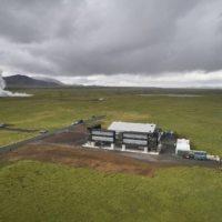 The Orca direct-air-capture and storage facility, operated by Climeworks AG, in Hellisheidi, Iceland, on Sept. 7. | BLOOMBERG
