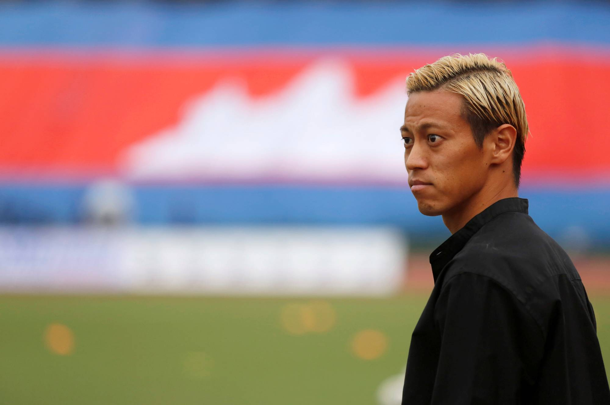 Lithuania will mark Keisuke Honda's eighth overseas stop as a player following recent stints in Azerbaijan and Brazil.   REUTERS