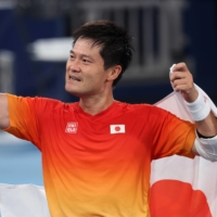 Wheelchair tennis star Shingo Kunieda, who won gold in the men's singles competition at the Tokyo Paralympics, became Uniqlo's first sponsored athlete in 2009. | REUTERS