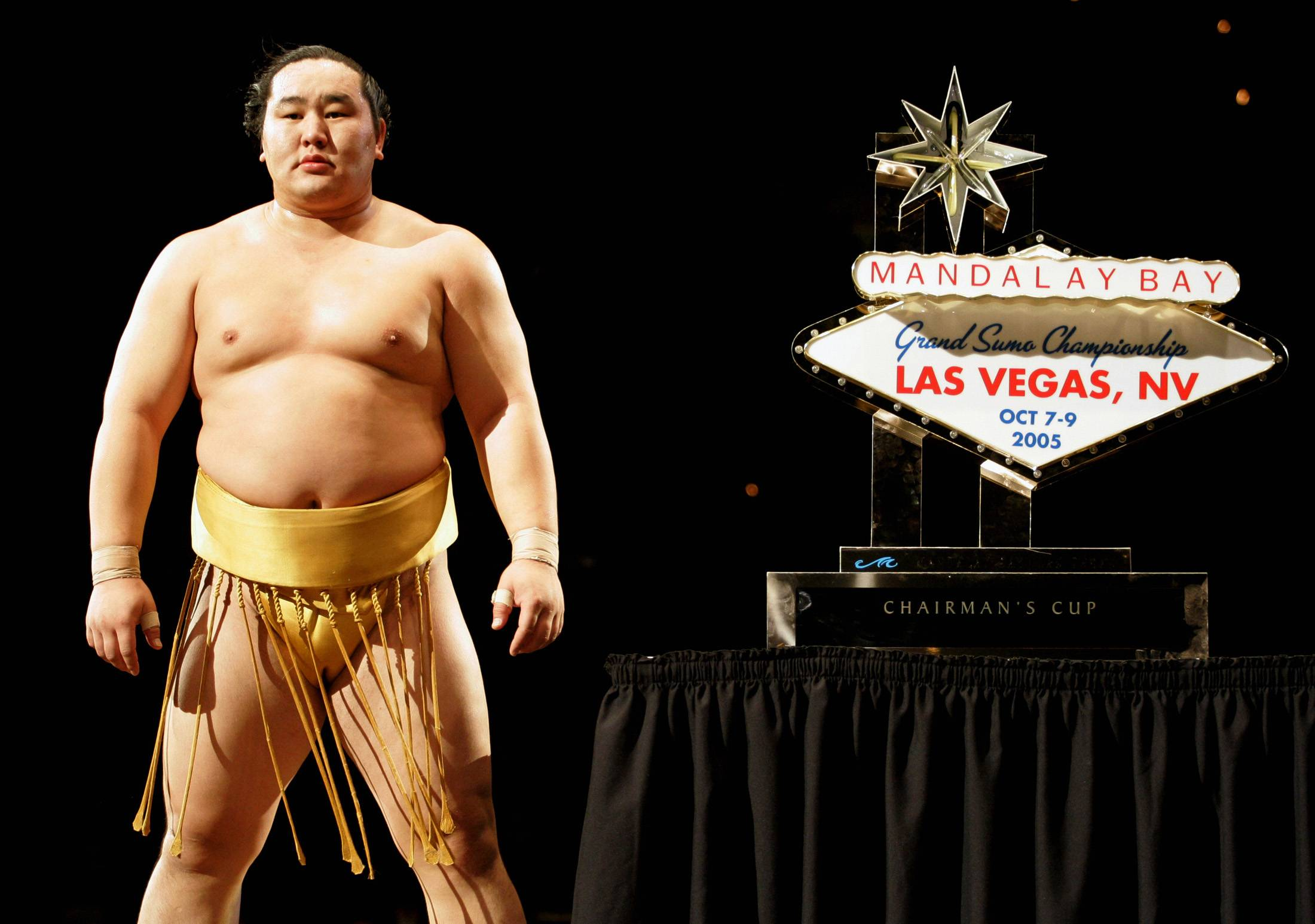 While the Japan Sumo Association has previously sponsored overseas events including an October 2005 tournament in Las Vegas, it has not attempted to offer streams to international audiences. | REUTERS