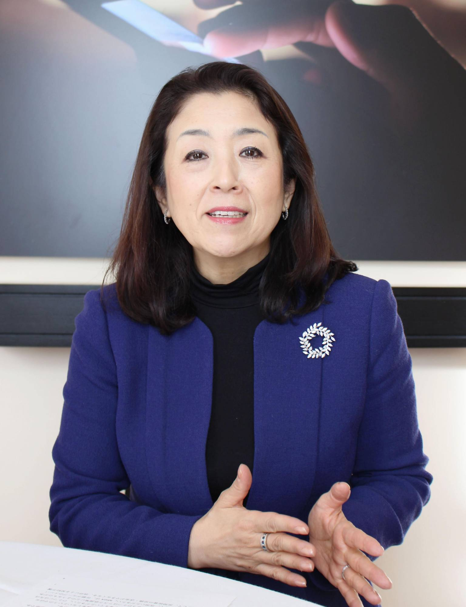 Keiko Honda, adjunct professor and adjunct senior research scholar at Columbia University's School of International and Public Affairs, reminded conference participants how difficult it once was for Japanese women to find jobs and develop careers. | KYODO