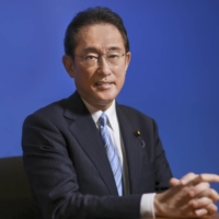 Fumio Kishida, a former foreign minister, at his office in Tokyo on Sept. 3.   BLOOMBERG