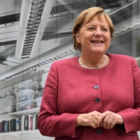 With German Chancellor Angela Merkel's conservative bloc facing a reckoning as its support plummets, nationalists could play a role in reshaping the German right. | AFP-JIJI