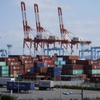 Japan's exports growth cools as COVID-19 hits supply chains