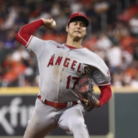 Shohei Ohtani to miss next start with sore arm, may not pitch again this season