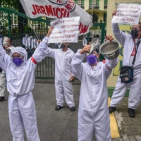 An entry-level nurse in a public hospital in the Philippines can earn 33,575 pesos ($670) per month, official data show. | AFP-JIJI