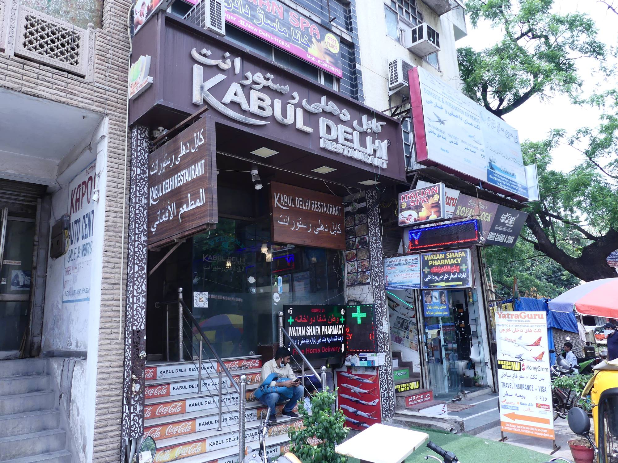 Compared to the rest of the sprawling Indian capital, Little Kabul has a distinct feel, with Afghan people speaking Pashto and wearing traditional Pathani shalwar-kameez mingling with Indians, who come from all over the city for its renowned restaurants. | SHREY DESMOND JOHN