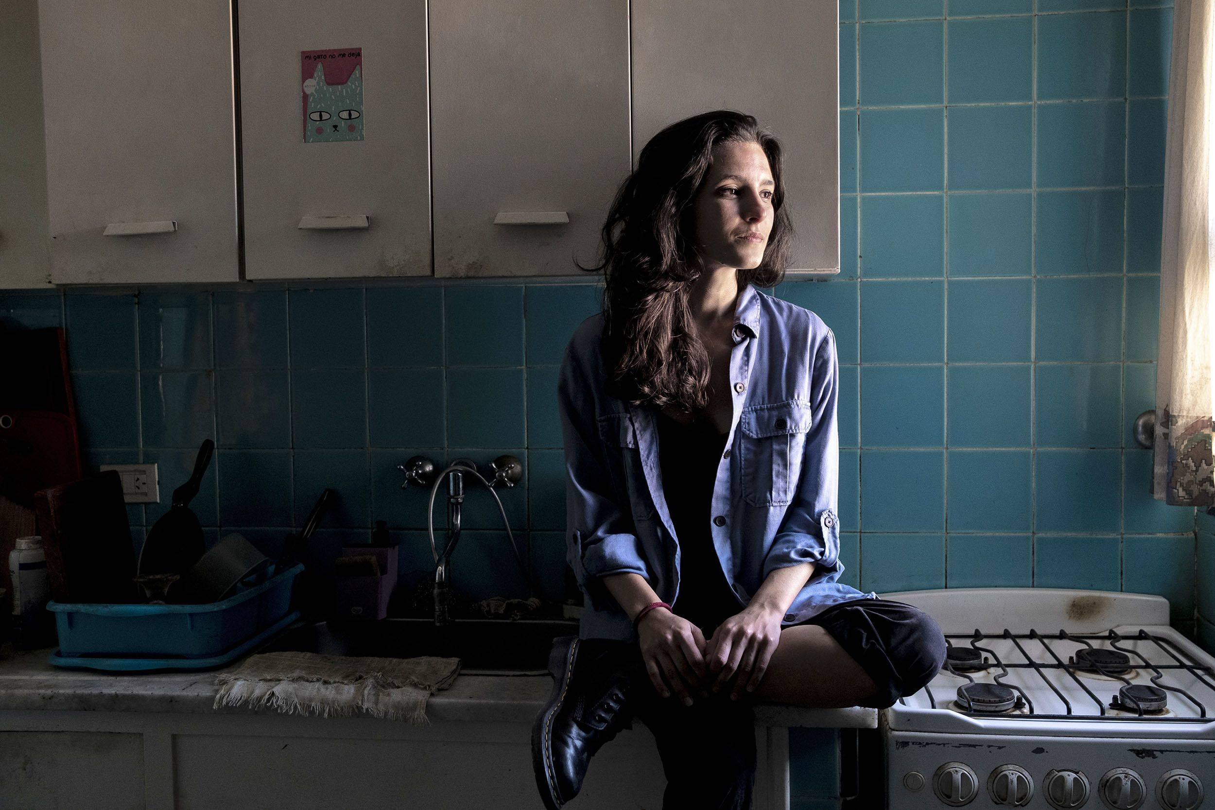 Lucia Cholakian's rent and bills take up about 40% of her income. | BLOOMBERG