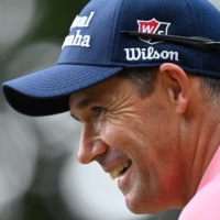 Europe captain Padraig Harrington isn't concerned about the pro-U.S. atmosphere his team will face when the Ryder Cup begins on Friday. | AFP-JIJI