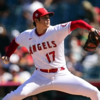 The Angels' Shohei Ohtani is scheduled to pitch against the Mariners on Sunday.