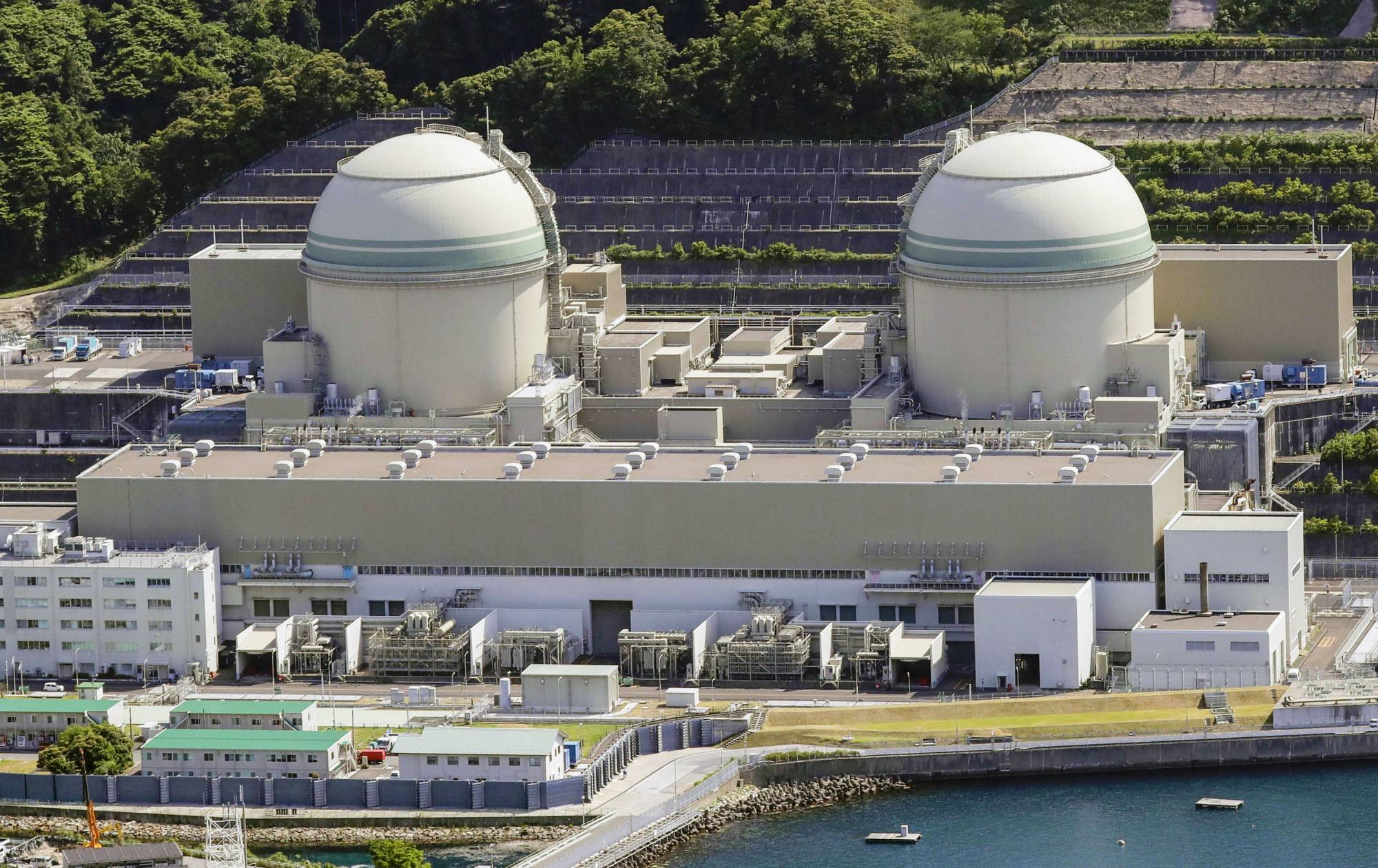 Kansai Electric Power Co.'s Takahama nuclear power plant in Fukui Prefecture   KYODO