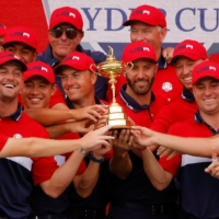 Youthful U.S. squad routs Europe to reclaim Ryder Cup