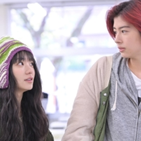 Horigai (Yui Sakuma, right) bumbles through her university days, but encounters with friends like Inogi (Nao, left) provide valuable life lessons in 'Eternally Younger Than Those Idiots.'   © 'ETERNALLY YOUNGER THAN THOSE IDIOTS' FILM PARTNERS