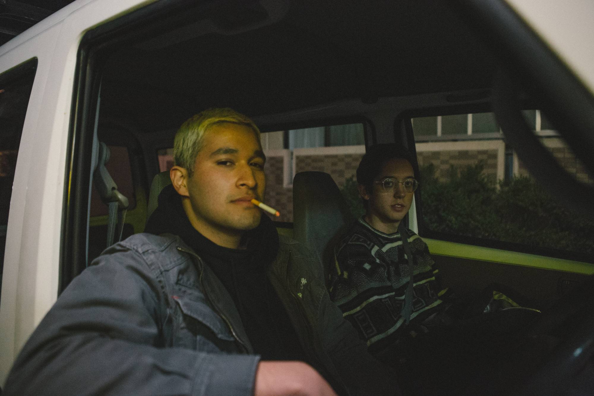 In Bilal Kawazoe's 'Whole,' Usman Kawazoe (left) and Kai Sandy (right) play two biracial men who bond over coming to terms with their identity while living in Japan.  | © 078