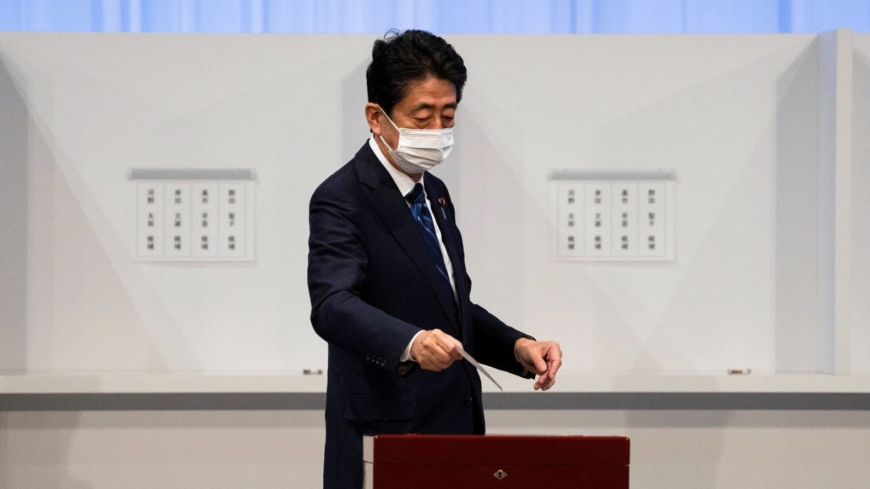 In the LDP's leadership race, Abe is looking like the ultimate victor