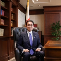 LDP President Fumio Kishida will be looking to focus on expanding his power, implementing policies that benefit the Japanese electorate and ensuring success in the upcoming elections before widening his policy window.   POOL / VIA REUTERS