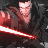 The character Ronin is voiced by Masaki Terasoma in Japanese and Brian Tee in the English dub in the 'Star Wars: Visions' short, 'The Duel.' | © 2021 LUCASFILM LTD. & TM. ALL RIGHTS RESERVED.