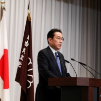 Newly elected Prime Minister Fumio Kishida has said that he will dissolve the Lower House on Oct. 14. | POOL / VIA REUTERS