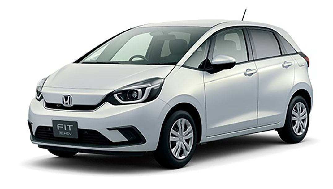 Honda Motor Co.'s Fit compact car is one of the models that can be purchased online.   HONDA MOTOR CO. / VIA KYODO