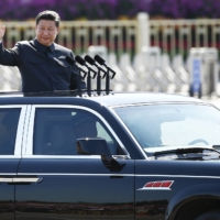 Chinese President Xi Jinping reviews a military parade in Beijing in September 2015. The failure of Chinese soft power may well have pushed Beijing to focus on national power where the West is concerned. | REUTERS
